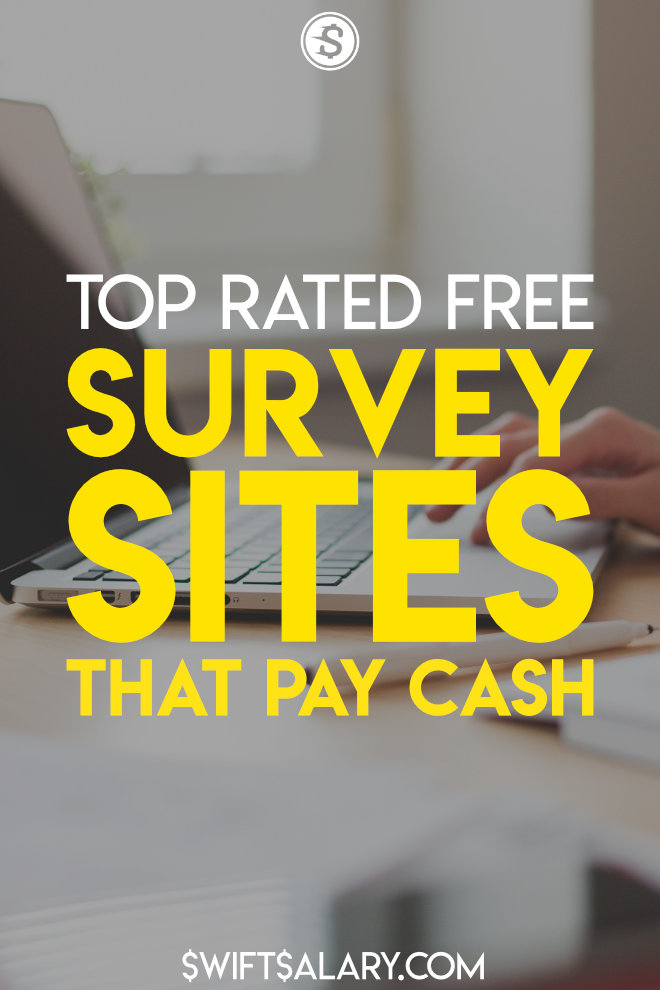 Top rated free survey sites that pay cash