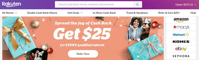 Rakuten cash back app