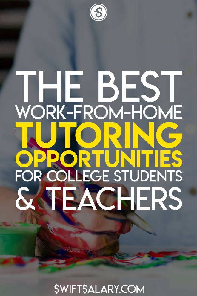 Do you have a passion for teaching? How about making money? If so, you should try out these online tutoring jobs at home. You can apply whether you have a bachelors degree or not, and you can make money and get paid quite nicely! #tutoringjobs #makemoney