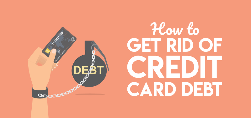 How to get rid of credit card debt fast thumbnail