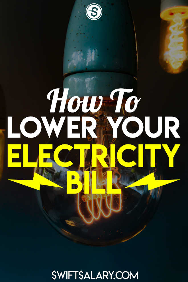These are some great ways to lower your electricity bill. Start saving money on electricity by making some quick changes in your home. #lowerelectricbill #lowerelectricitybill #electricitytips #savemoney
