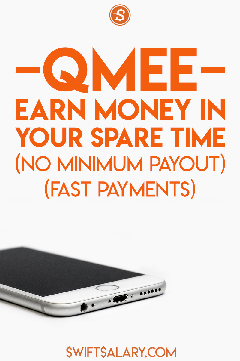 Qmee review pin for Pinterest