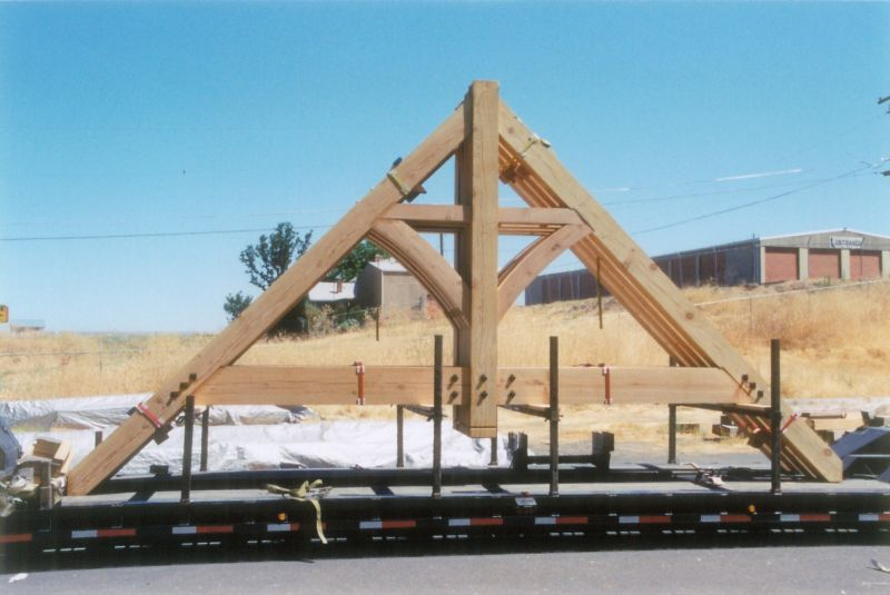 Heavy Timber Trusses Swiftsure Timberworks