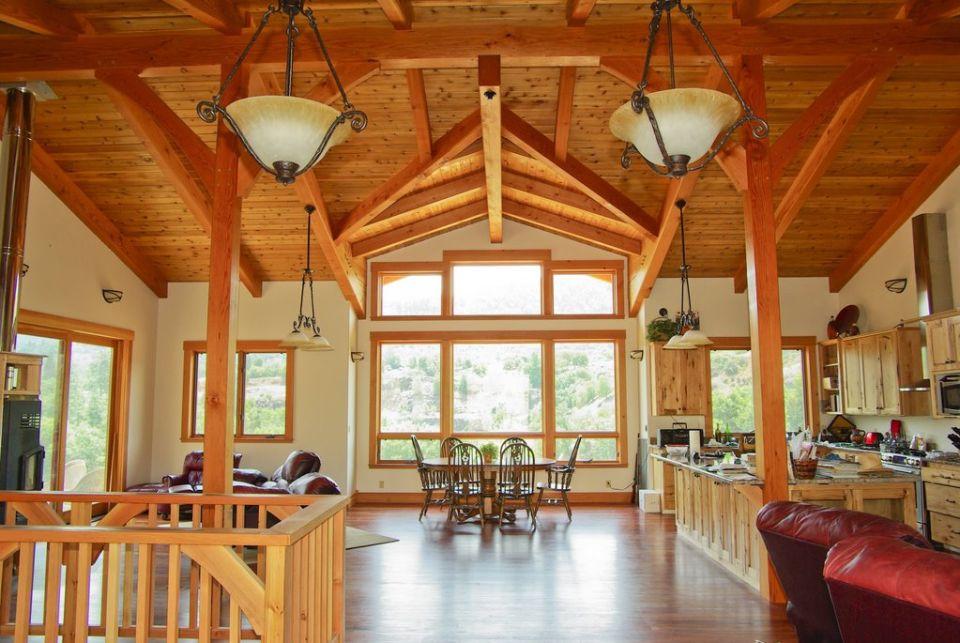 Hybrid Timber Homes Swiftsure Timberworks
