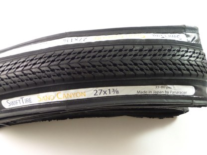 """SwiftTire 27"""" x 1 3/8"""" Tire & Tube Combo - Made by Panaracer"""