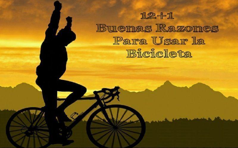 12+1 razones para usar la bicicleta
