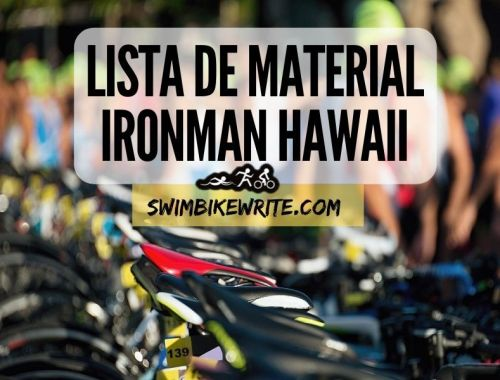 Material Ironman Hawaii