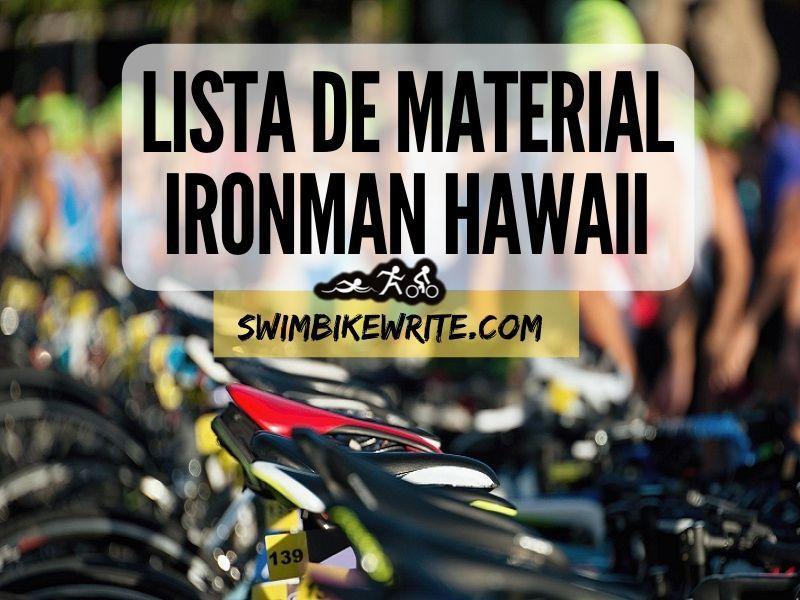 Ironman Hawaii material