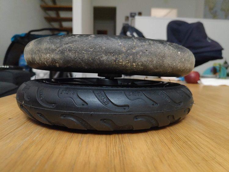 carrito remolque rueda delantera