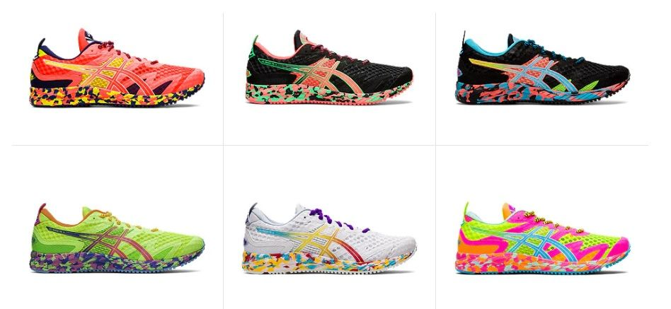 mejores zapatillas triatlon Asics Noosa Tri 12 colores