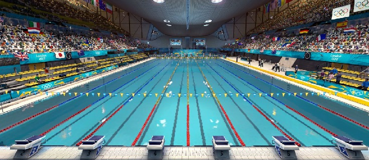 Las piscinas olmpicas