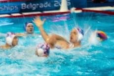 action panning CRO - MLT Men Croatia (White Cap) Vs. Malta(Blue caps) LEN European Water Polo Championships 2016 Kombank Arena, Belgrade, Serbia Day05 14-01-2016 Photo G.Scala/Insidefoto/Deepbluemedia