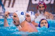 LEN European Water Polo Championships 2016 Hungary HUN (White) Vs Croatia CRO (Blue) Men 6 HOSNYANSZKY Norbert HUN Kombank Arena, Belgrade, Serbia Day10 19-01-2016 Photo P. Mesiano/Insidefoto/Deepbluemedia