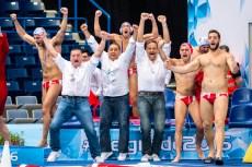 Karl IZZO MLT Coach, Team Malta LEN European Water Polo Championships 2016 Men MLT - TUR Malta (white) vs Turkey (blue) Kombank Arena, Belgrade, Serbia Day13 22-01-2016 Photo G. Scala/Insidefoto/Deepbluemedia