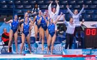 LEN European Water Polo Championships 2016 Russia RUS (White) Vs Greece GRE (Blue) Women Team Greece Head Coach KECHAGIAS Athanasios GRE Kombank Arena, Belgrade, Serbia Day13 22-01-2016 Photo P. Mesiano/Insidefoto/Deepbluemedia