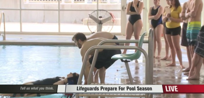 Lifeguards Prepare for Pool Season