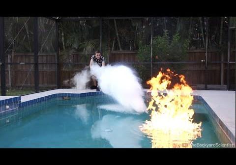 Pool Fire vs Liquid Nitrogen