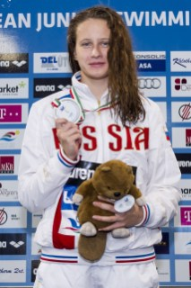 Egorova Polina RUS 100 Butterfly Women Final Gold Medal LEN 43rd Arena European Junior Swimming Championships Hodmezovasarhely, Hungary Day04 09-07-2016 Photo Andrea Masini/Deepbluemedia/Insidefoto