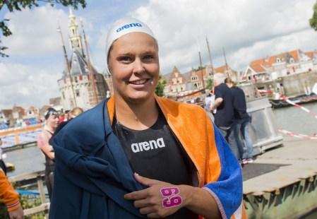 VAN ROUWENDAAL Sharon NED bronze medal Hoorn, Netherlands LEN 2016 European Open Water Swimming Championships Open Water Swimming Women's 5km Day 02 12-07-2016 Photo Giorgio Perottino/Deepbluemedia/Insidefoto
