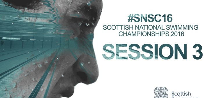 Day 1 Finals: Scottish National Swimming Championships 2016