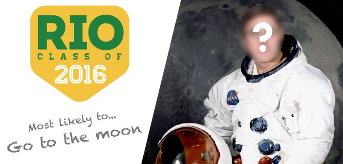 Most likely to… Go to the moon | Olympic Class of 2016