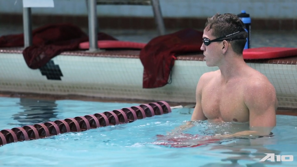 UMass Swimmer Succeeds With Cystic Fibrosis