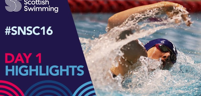 Scottish National Swimming Championships 2016 – Day 1 Highlights