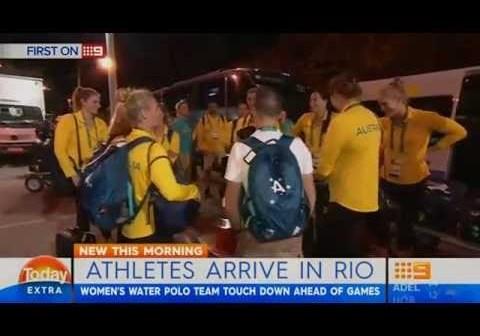 Rio Olympics 2016: Australian women's water polo team members quarantined