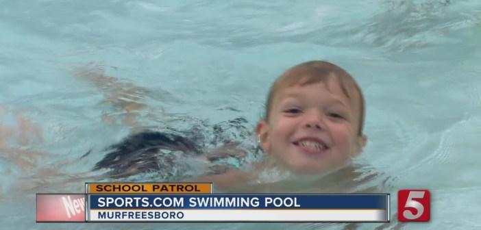 School Patrol: Toddlers Take Swim Classes