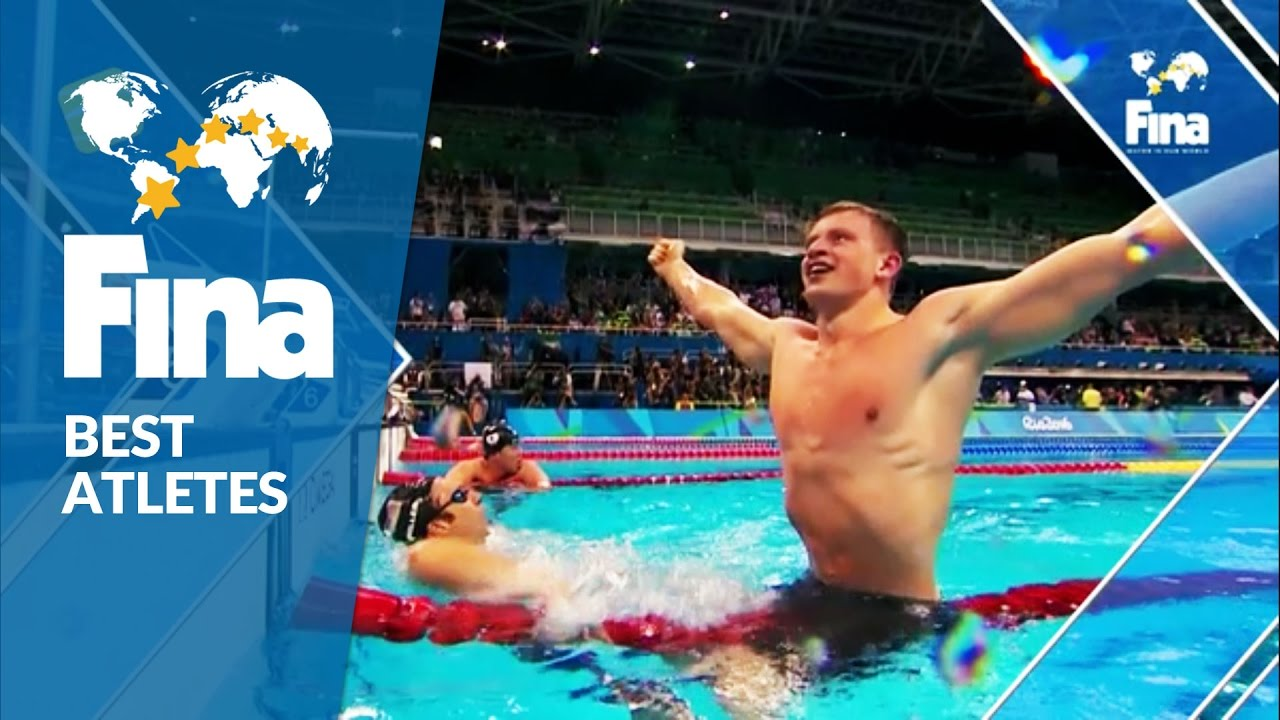 Adam Peaty (GBR) – Male Top Olympic Performer 2016 – FINA World Aquatics Gala