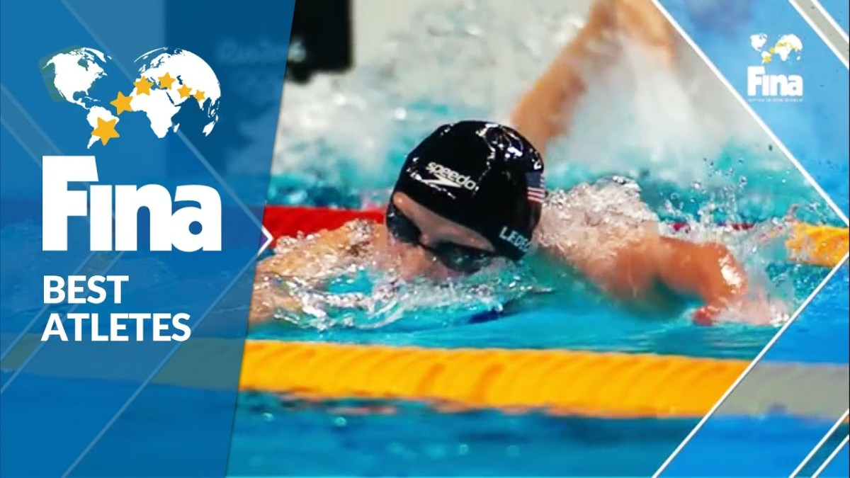 Katie Ledecky (USA) - Female Top Olympic Performer 2016 - FINA World Aquatics Gala