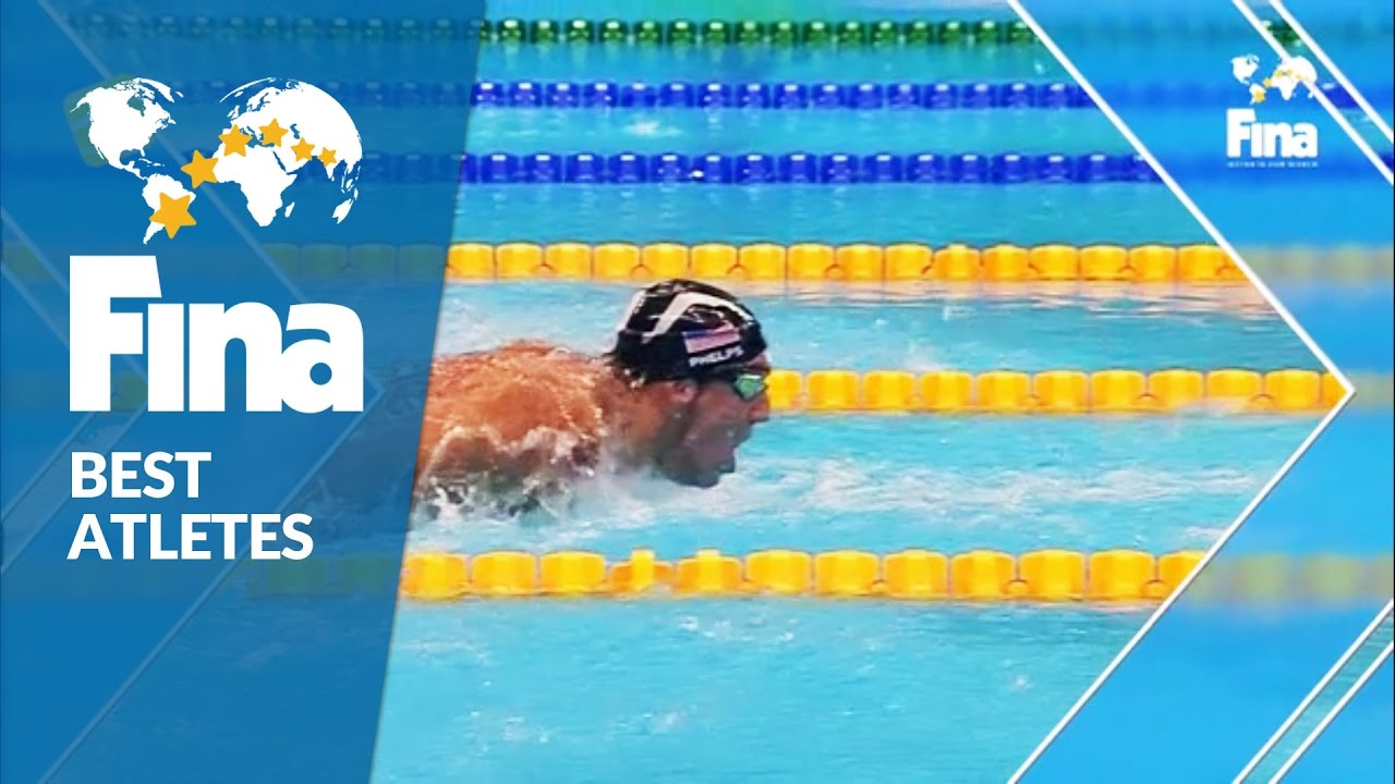 Michael Phelps (USA) – Best Male Swimmer 2016 – FINA World Aquatics Gala