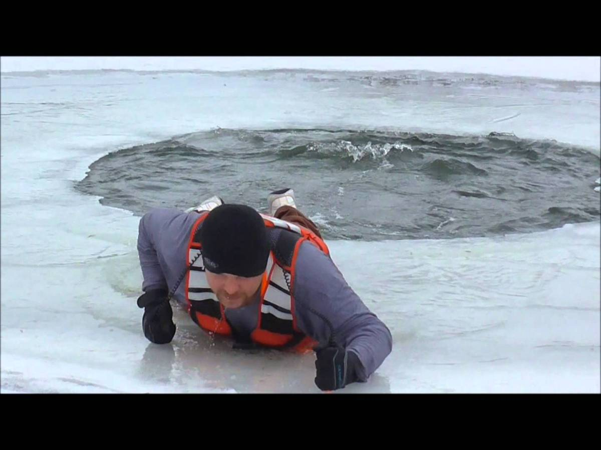 Fired Up At Usc >> This Is What Happens When You Fall Through Ice, and How to Save Yourself | Swimmer's Daily