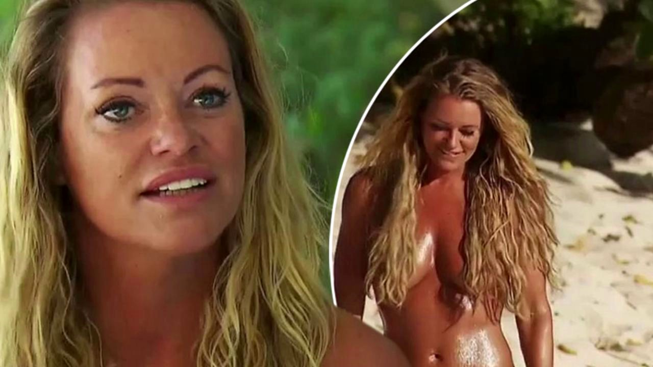 Olympic gold medallist Inge de Bruijn strips naked as she tries to find a boyfriend on reality TV show