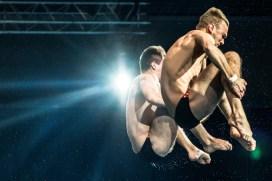 DOLGOV Maksym UKR, GORSHKOVOZOV Oleksandr UKR Synchronised Men Platform Final LEN European Diving Championships 2017 Sport Center LIKO, Kiev UKR Jun 12 - 18, 2017 Day04 15-06-2017 Photo © Giorgio Scala/Deepbluemedia/Insidefoto
