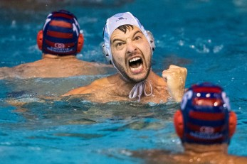 Pro Recco (white cap) vs Jug Dubrovnik (blue cap) 10 FILIPOVIC Filip LEN Champions League Final Eight 2018 08/06/2018 SemiFinal Piscina Sciorba Genova Italy Photo © G.Scala/Deepbluemedia/inside
