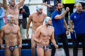 Pro Recco (white cap) vs Jug Dubrovnik (blue cap) Team Pro Recco LEN Champions League Final Eight 2018 08/06/2018 SemiFinal Piscina Sciorba Genova Italy Photo © G.Scala/Deepbluemedia/inside