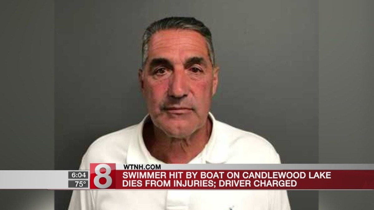 Swimmer hit by boat on Candlewood Lake dies from injuries; driver charged