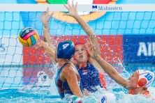 Silvia Avegno - Italy Netherlands (white caps) vs. Italy (blue caps) Woman qualification 33rd LEN European Water Polo Championships - Barcelona 2018 Barcelona (ESP) - Piscines Bernat Picornell Photo Marcel ter Bals/Deepbluemedia/Insidefoto