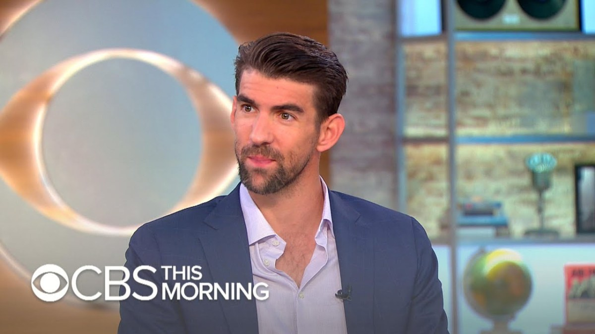 "Michael Phelps on managing depression: ""It's OK to not be OK"""