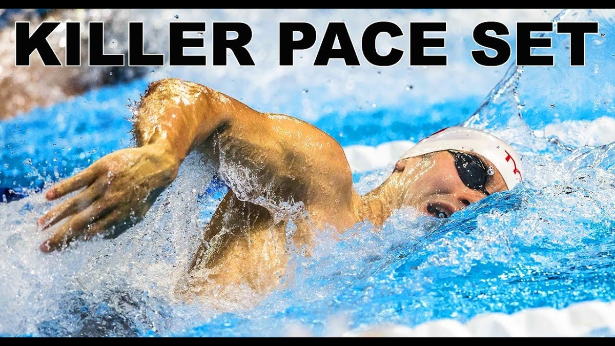 Olympic 200 Freestyle Swimming | Cody Miller Vlog_59