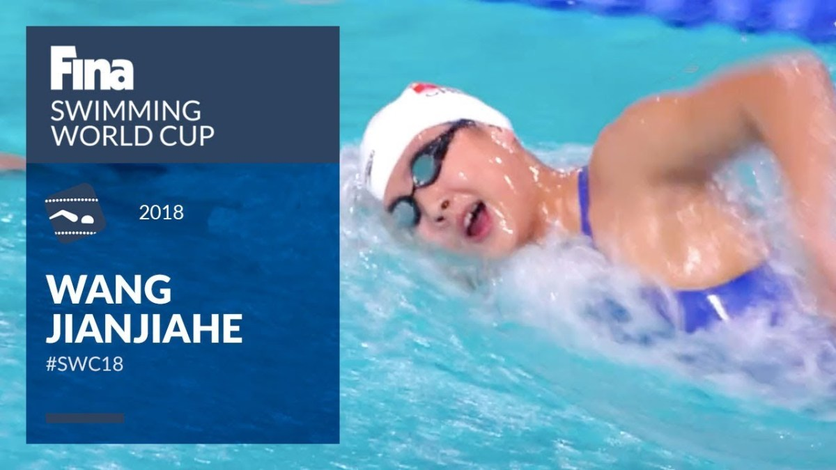 Wang Jianjiahe - the new star at the FINA firmament | FINA Swimming World Cup 2018