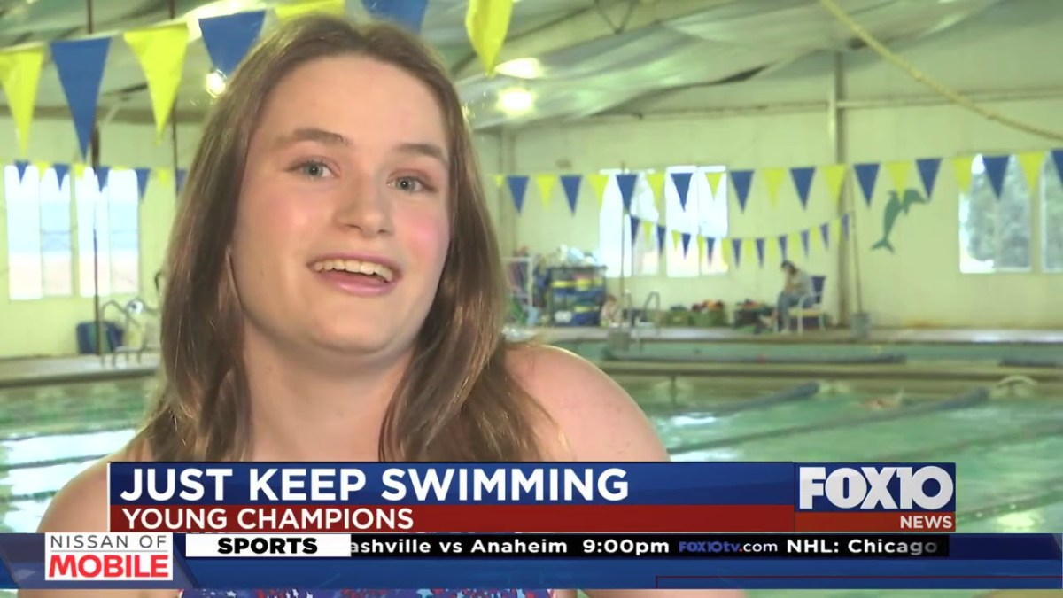 Young Champions: High School swimmer looking to make history