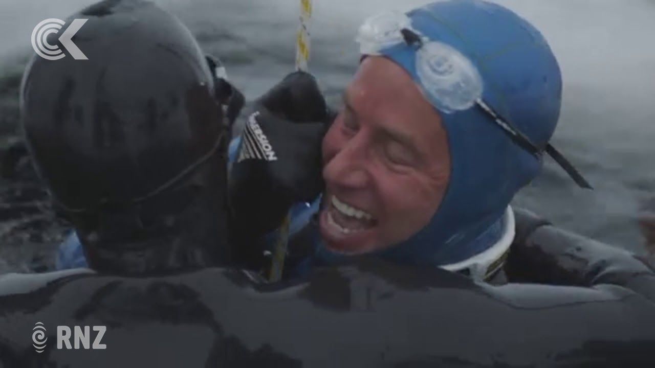 Kiwi free-diver Ant Williams breaks second world record for