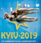 HENTSCHEL LENA GER Germany, PUNZEL TINA GER Germany Women - Synchronised 3m - Final Kyiv, Ukraine UKR 11/08/2019 Diving Len European Diving Championships 2019 Sport Arena Liko Kyiv, Ukraine Photo © Giorgio Scala / Deepbluemedia / Insidefoto