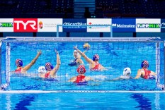 Croatia Budapest 12/01/2020 Duna Arena Hungary (white caps) Vs. Croatia (blue caps) XXXIV LEN European Water Polo Championships 2020 Photo ©Giorgio Scala / Deepbluemedia / Insidefoto
