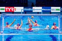 Croatia Budapest 12/01/2020 Duna Arena Hungary (white caps) Vs. Croatia (blue caps) XXXIV LEN European Water Polo Championships 2020 Photo ©Giorgio Scala / Deepbluemedia / Insidefoto