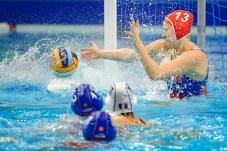 13 HORVATHOVA K. (C) GK SVK Slovakia Final 7th - 8th FRA - France (white caps) Vs. SVK - Slovakia (blue caps) Women Budapest 24/01/2020 Duna Arena XXXIV LEN European Water Polo Championships 2020 Photo ©Pasquale Mesiano / Deepbluemedia / Insidefoto