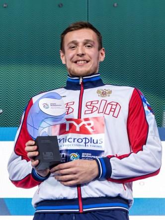 6 RUS KHARKOV Konstantin Russia Top Scorer Budapest 26/01/2020 Duna Arena Men Medal Ceremony XXXIV LEN European Water Polo Championships 2020 Photo ©Giorgio Scala / Deepbluemedia / Insidefoto