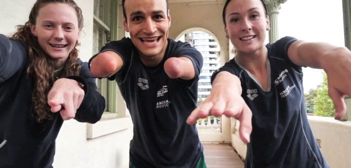 """""""First Ones Home"""" – Australian Paralympic Swimming Team 2020"""